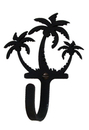 Village Wrought Iron WH-139-S Triple Palm Trees Whook Small