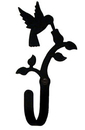 Village Wrought Iron WH-18-XS Hummingbird - Wall Hook Extra Small