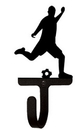 Village Wrought Iron WH-183-S Soccer Player - Wall Hook Small
