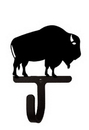 Village Wrought Iron WH-186-S Buffalo - Wall Hook Small