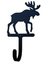 Village Wrought Iron WH-19-L Moose - Wall Hook Large