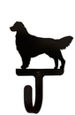 Village Wrought Iron WH-237-S Retriever - Wall Hook Small