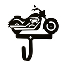 Village Wrought Iron WH-275-S Motorcycle-Wall Hook Sm.