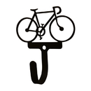 Village Wrought Iron WH-286-S Bicycle - Wall Hook Sm.