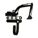 Village Wrought Iron WH-295-S Excavator - Wall Hook Small