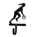 Village Wrought Iron WH-306-S Basketball - Woman's / Girl's - Wall Hook Small