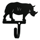Village Wrought Iron WH-309-S Rhino - Wall Hook Small