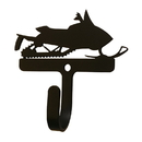 Village Wrought Iron WH-314-S Snowmobile - Wall Hook Small