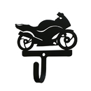 Village Wrought Iron WH-318-S Motorcycle-Street Style-Wall Hook Small