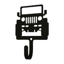 Village Wrought Iron WH-323-S Off Road Vehicle - Wall Hook Small