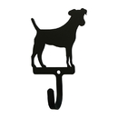 Village Wrought Iron WH-324-S Jack Russel - Wall Hook Small