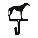 Village Wrought Iron WH-333-S Greyhound - Wall Hook Small