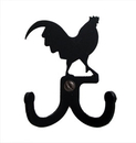 Village Wrought Iron WH-D-1 Rooster - Double Wall Hook