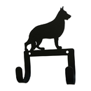 Village Wrought Iron WH-LC-245 Shephard - Leash and Collar Wall Hook