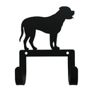 Village Wrought Iron WH-LC-326 Mastiff - Leash and Collar Wall Hook