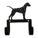 Village Wrought Iron WH-LC-331 Dalmatian - Leash and Collar Wall Hook