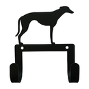 Village Wrought Iron WH-LC-333 Greyhound - Leash and Collar Wall Hook