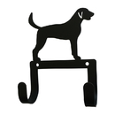Village Wrought Iron WH-LC-339 Fox Hound - Leash and Collar Wall Hook