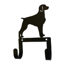 Village Wrought Iron WH-LC-340 Brittany - Leash and Collar Wall Hook