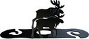 Village Wrought Iron WRC-19 Moose - Wine Caddy
