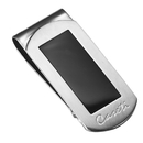 Caseti Tye Stainless Steel and Black Onyx Money Clip