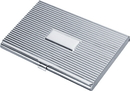 Zeus Ribbed  Business Card Case