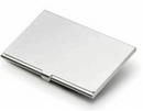 Tucson Silver Plated Business Card Case