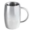 Visol Emerald Double Walled Stainless Steel Beer Mug - 14 oz