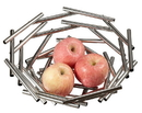 Visol Gilles Small Stainless Steel Fruit Bowl