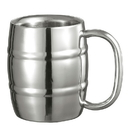 Visol Little Cooper Double Walled Stainless Steel Mug - 9 ounces