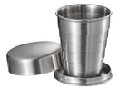 Visol Scope Stainless Steel Folding Shot Cup - 2 ounce