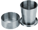 Visol Scope Stainless Steel Folding Shot Cup - 5 ounce
