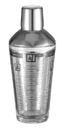 Visol Soiree Recipe Glass Cocktail Shaker - 12oz