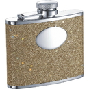Visol Supernova Gold Glitter 4-oz. Bridesmaids Flask