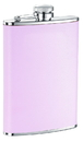 Visol Daydream Pink Leather Liquor Flask - 8 ounce