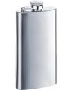 Visol Trim Satin Finish Stainless Steel 5oz Hip Flask