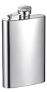 Visol Mini Mirrored Finish Stainless Steel Liquor Flask - 4 ounces