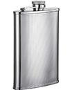 Visol Pixel Stainless Steel 8oz Hip Flask