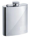 Visol Duo Two-Tone Stainless Steel 8oz Hip Flask