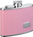 Visol Adora Pink Hip Flask - 4 oz