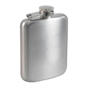 Visol Podova Satin Stainless Steel Liquor Flask - 6 ounces