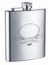 Visol Groomsman Stainless Steel 8oz Hip Flask