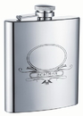 Visol Bestman Stainless Steel 8oz Hip Flask