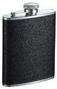 Visol Stardust Black Glitter Liquor Flask - 6 ounce