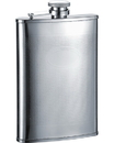 Visol Mark Stainless Steel Hip Flask - 8 oz