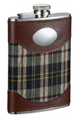 Visol Macalister Scottish Plaid Liquor Flask - 8 oz