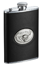 Visol Hell Rider Black Liquor Flask - 8 ounce