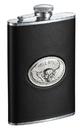 Visol Hell Rider Black Liquor Flask - 8 ounce