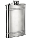 Visol Athens Greek Pattern Etched 8-oz. Flask