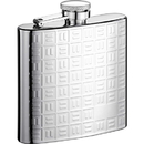 Visol Domino Stainless Steel 8oz Hip Flask